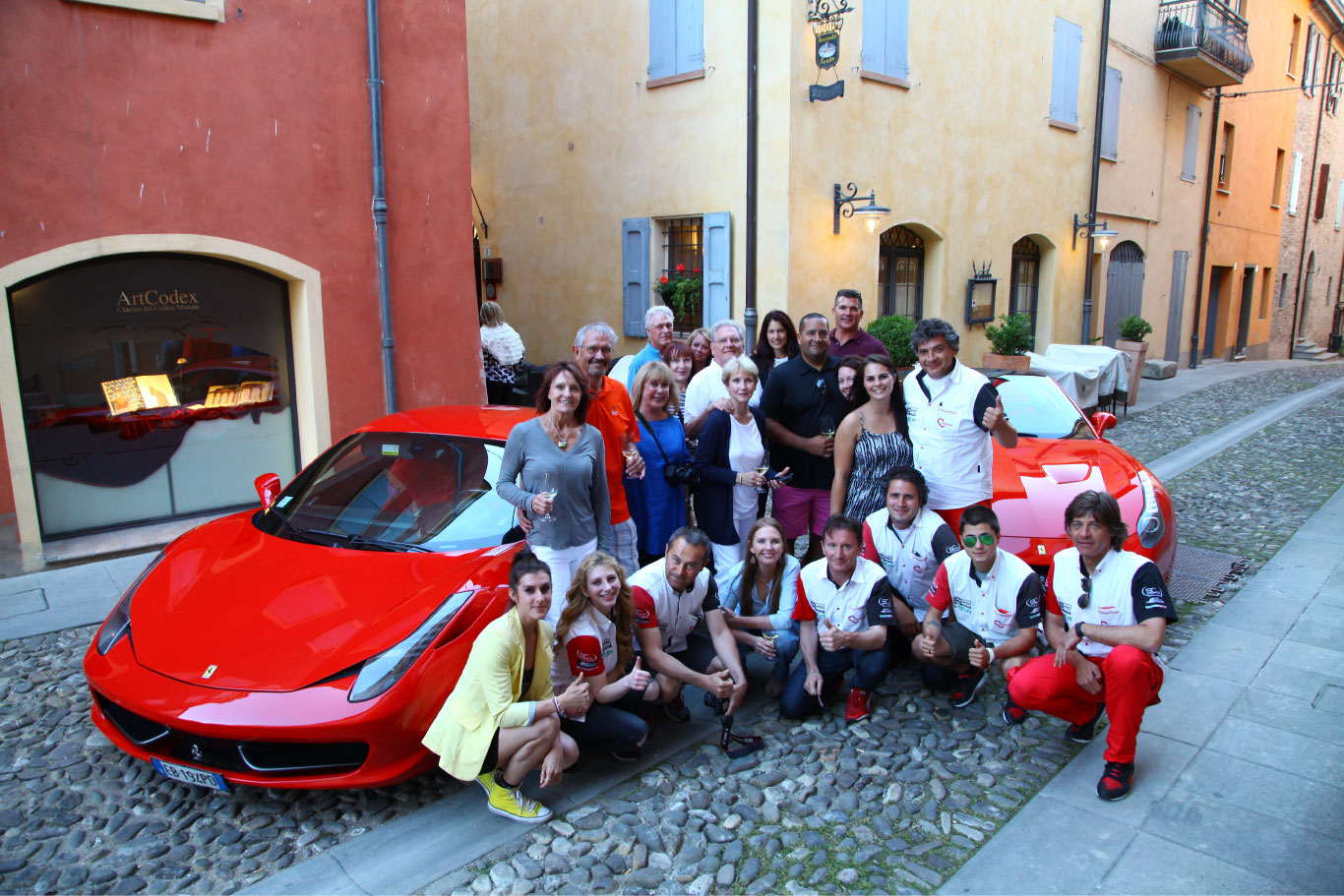 Image of the Emilia Romagna Tours crew